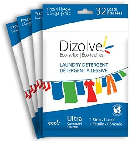 Dizolve Waschmittel-Streifen mit Frischeduft - 32x waschen - 1 Streifen für 7 kgs Wäsche
