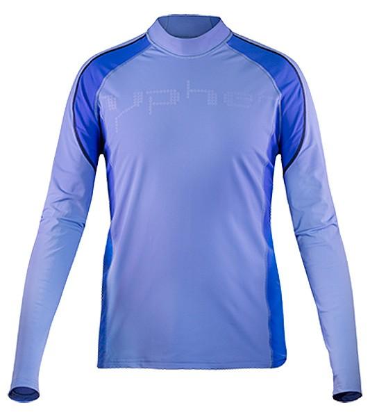 UV Sonnenschutz Langarmshirt 'the rag reef blue' 51296 für Herren mit UPF 80 von hyphen