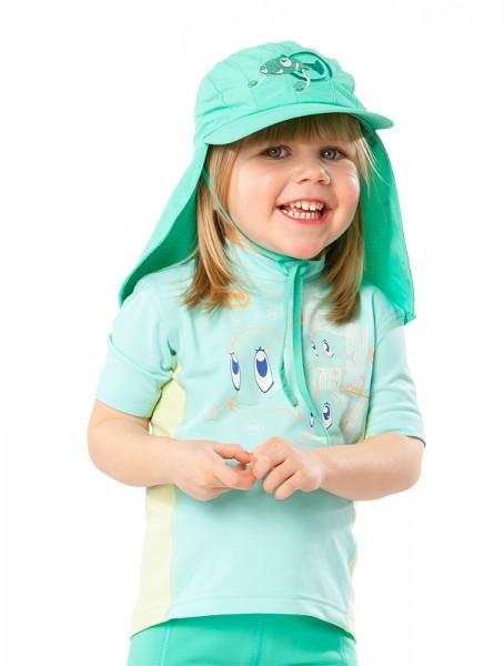 UV  Sonnenhut 'bermuda' für Kinder mit UPF 80 Grösse 42-44 von hyphen