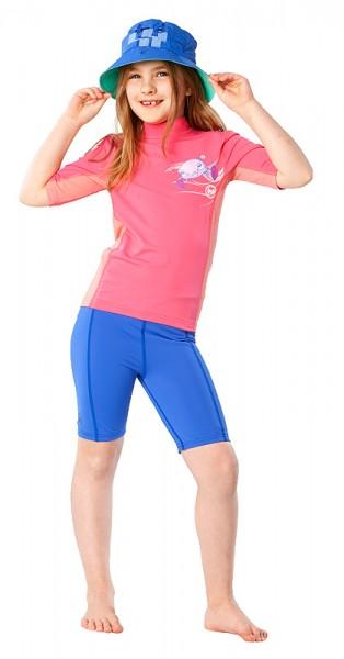 UV Sonnenschutz Shorts 'cobalt' für Kinder mit UPF 80 von hyphen