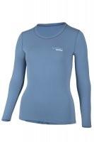 UV Sonnenschutz Langarmshirt 'pali stone blue' für Frauen mit UPF 80 von hyphen