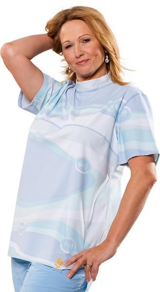 UV Sonnenschutz Kurzarmshirt 'whitewater' 50162 für Frauen mit UPF 80 von hyphen