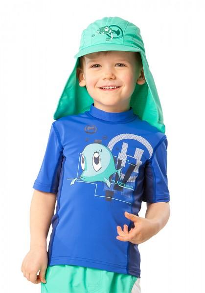 UV  Sonnenhut 'bermuda' für Kinder mit UPF 80 Grösse 50-52 von hyphen