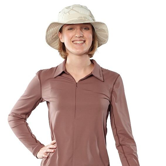 UV Sonnenschutz Langarmshirt 'capuccino' 50484 für Frauen mit UPF 80 von hyphen