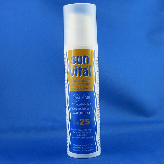 SUN VITAL Sonnenmilch mit LSF 25  / 200 ml von Goloy33