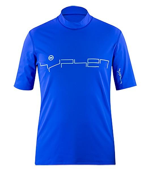 UV Sonnenschutz Kurzarmshirt 'nianui cobalt' 51299 für Herren mit UPF 80 von hyphen